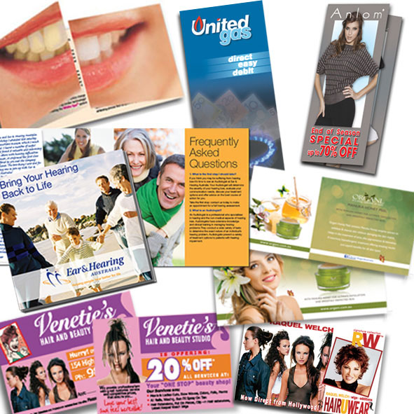 Brochures, Flyers and Catalogue Design